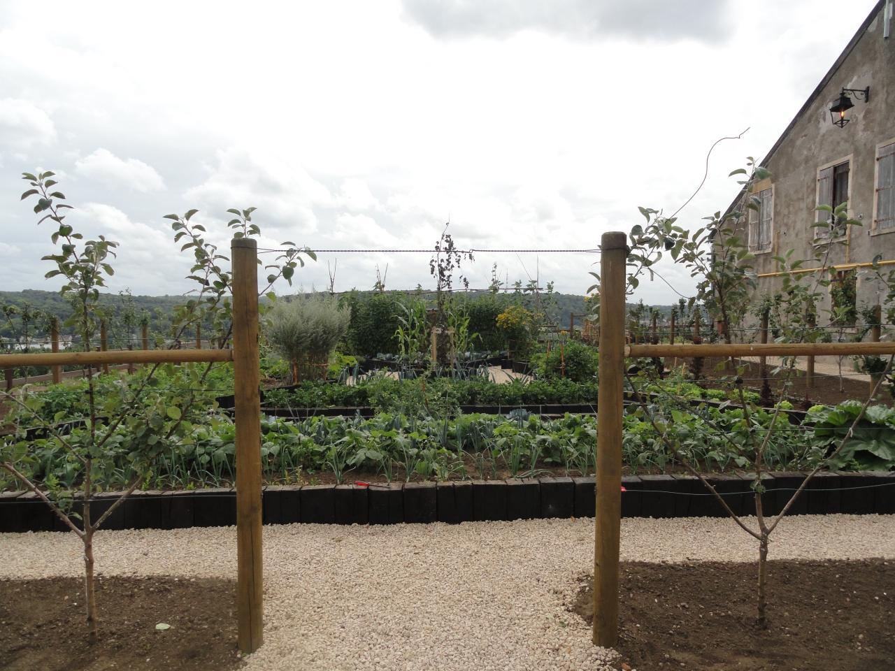 entrée de l'hortus août 2012