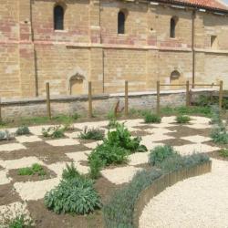 jardin médiéval début août 2011