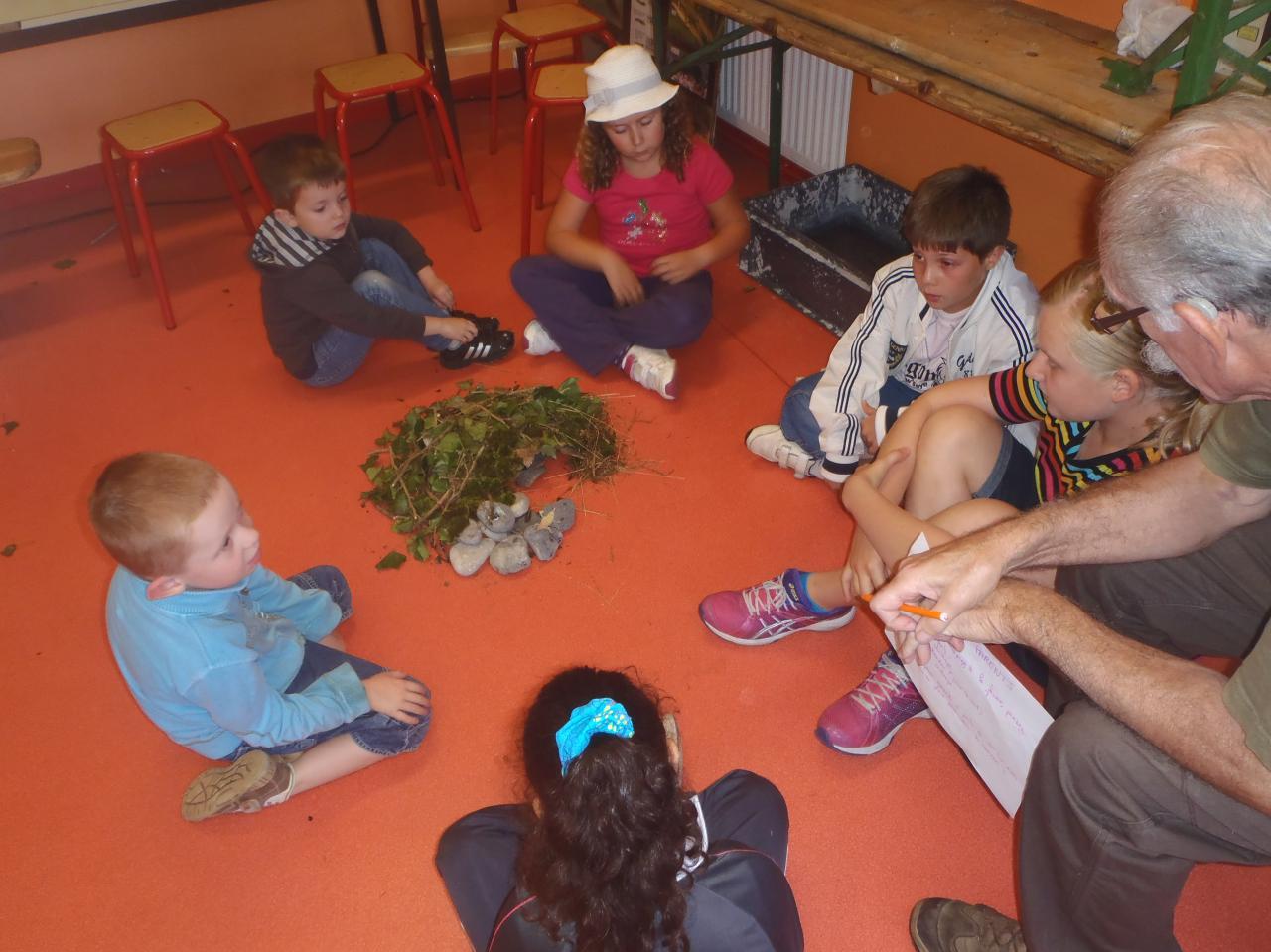 les enfants apprennent ce qu'est un écosystème