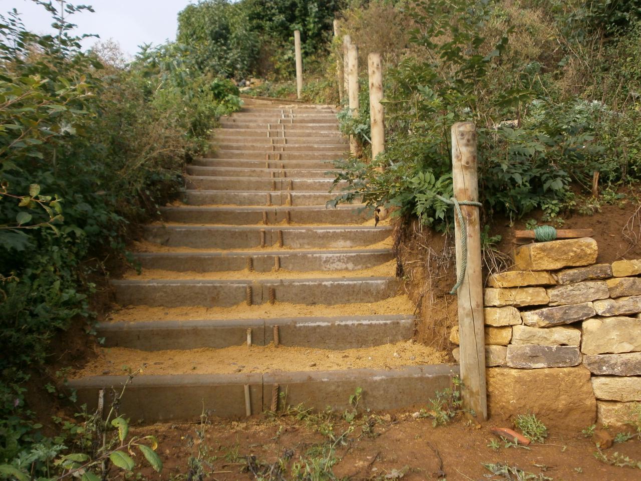 chemin des senteurs, accès second pallier